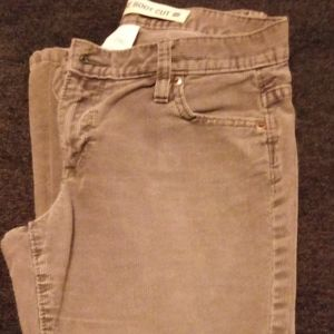 Gap low rise corduroy
